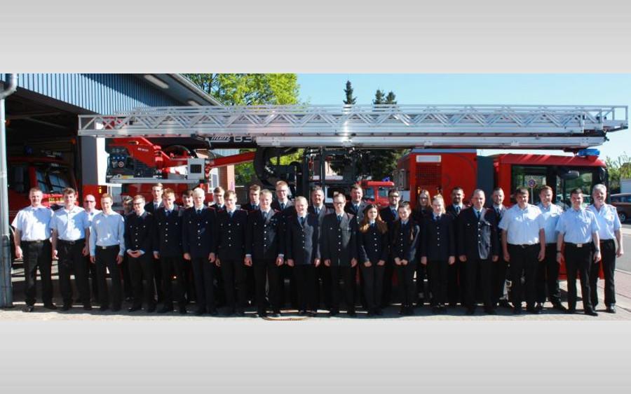 Truppmannausbildung Teil 1 in Bergen: 23 Anwärter geprüft