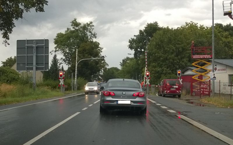 Verkehrschaos in Altenhagen