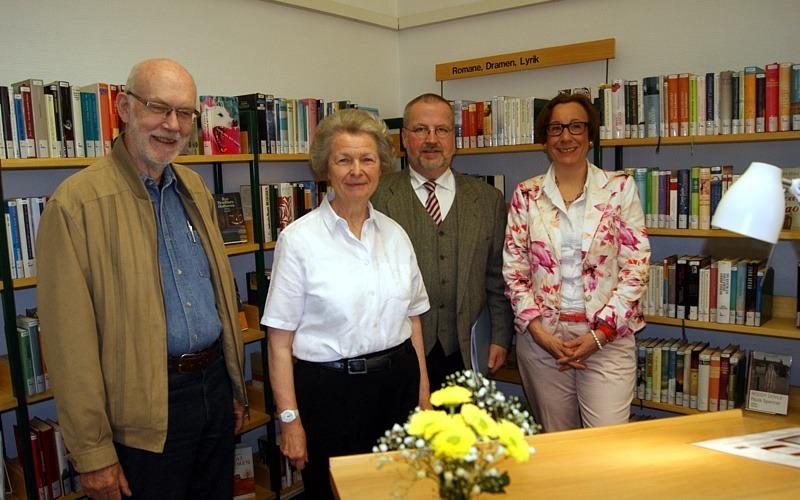 Lesung in der Stadtbibliothek: Vor 100 Jahren wurde im Rathaus Celle die Volksbücherei eröffnet