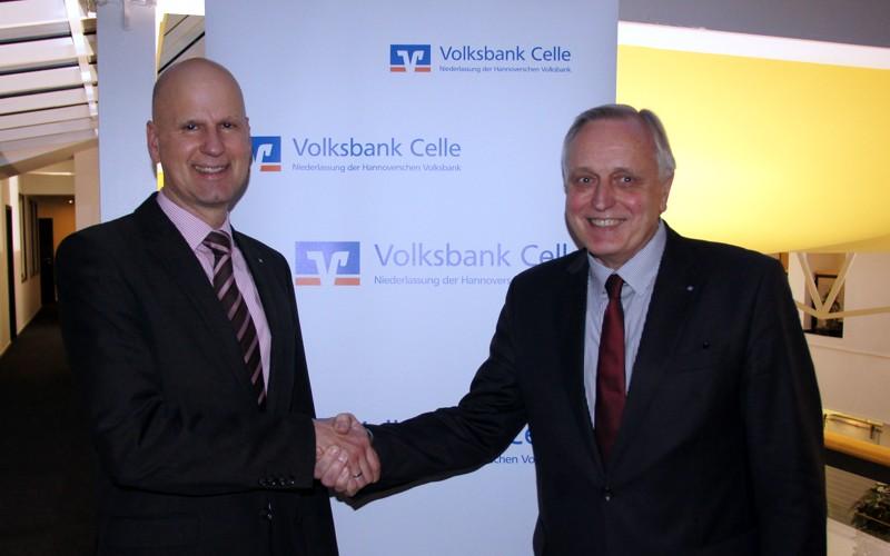 Generationswechsel bei der Volksbank Celle: Ein Celler für die Celler