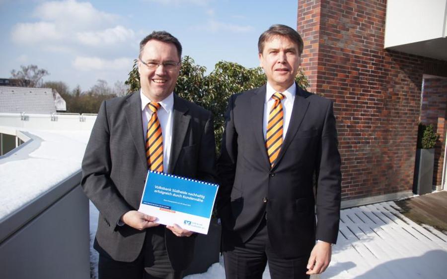Volksbank Südheide nachhaltig erfolgreich durch Kundennähe – 26.028 Mitglieder hat die Volksbank