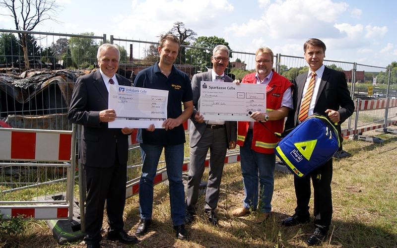 Volksbanken und Sparkasse unterstützen gemeinsam die DLRG