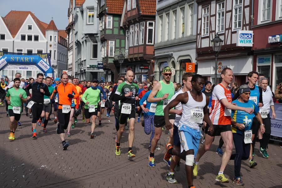 35. Celler WASA-Lauf 2017 begeistert Sportler wie Zuschauer
