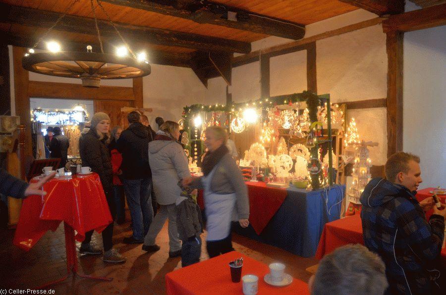 Weihnachtsmarkt auf dem Rittergut Hohne