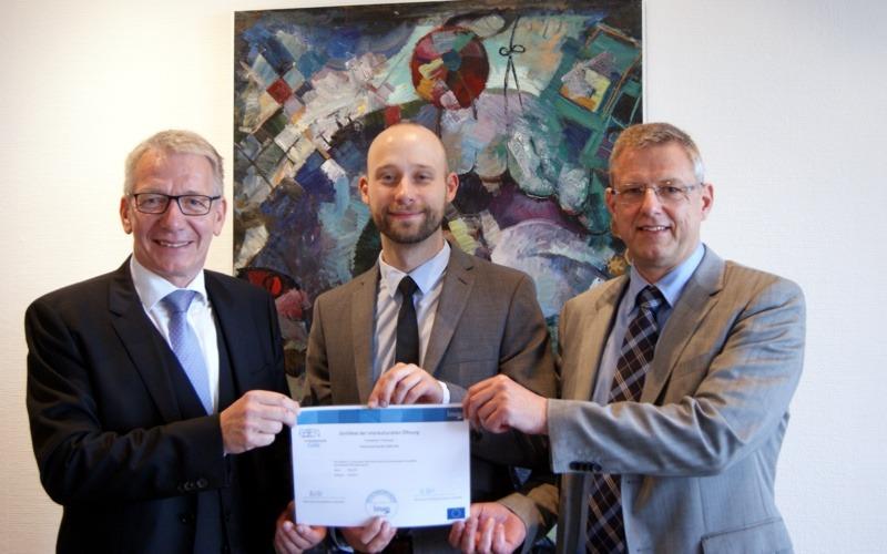 Zertifizierung der interkulturellen Öffnung des Fachdienstes Personal