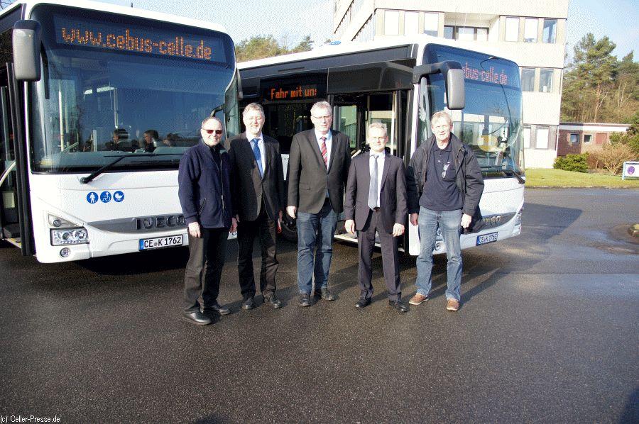 CeBus: Zwei neue Omnibusse im Einsatz