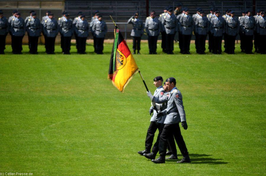 Feierliche Vereidigung von Unteroffizier- und Feldwebelanwärtern
