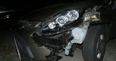 Promillefahrer schiebt nach Unfall Ehefrau vor