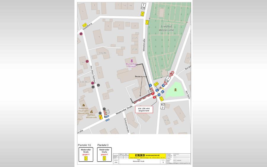 Abriss Schützenhaus: Westerceller Straße wird zur Einbahnstraße