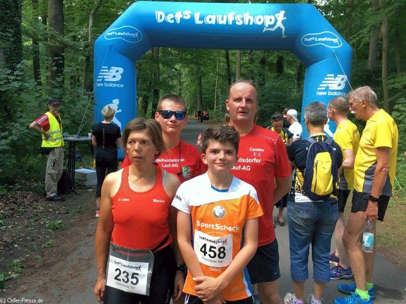 Adelheidsdorfer Lauf-AG startet bei 10-Kilometer-Lauf in der Eilenriede