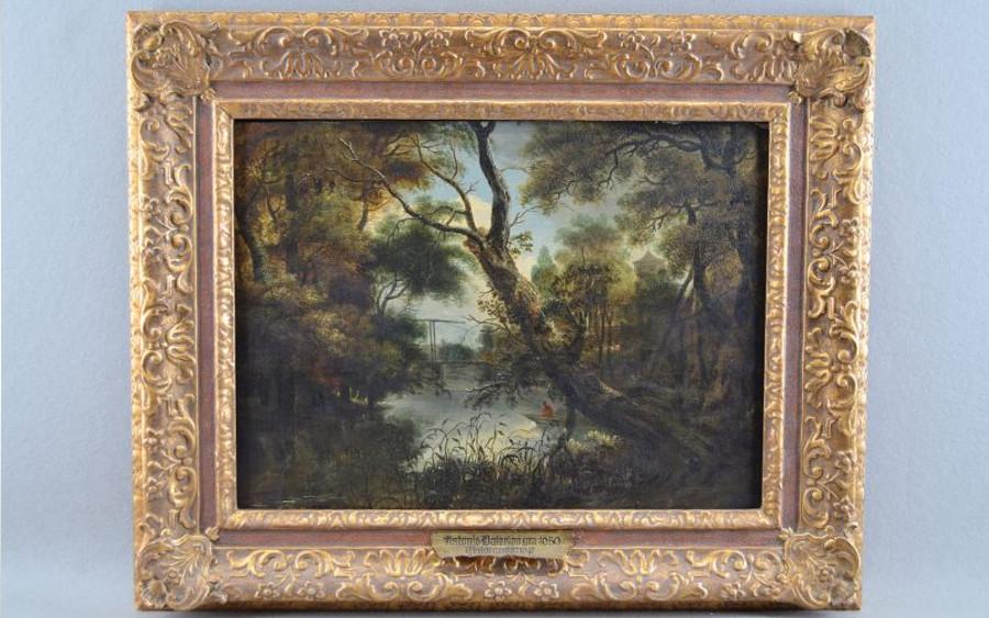 """Bomann-Museum Celle restituiert niederländisches Gemälde """"Waldlandschaft"""""""