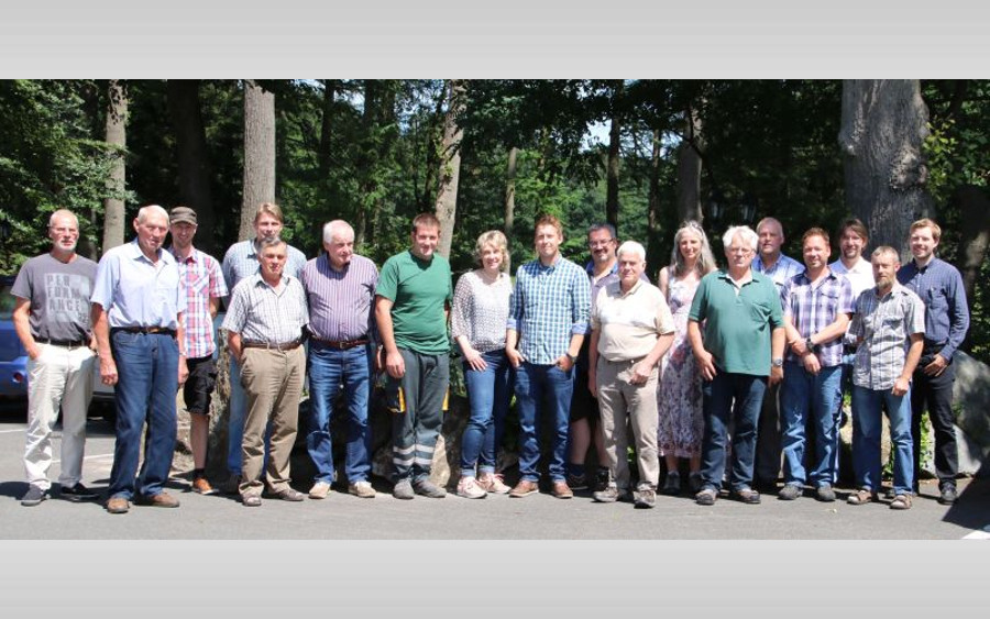 Fortbildung zum Thema Gewässerunterhaltung und Artenschutz beim Unterhaltungsverband Örtze
