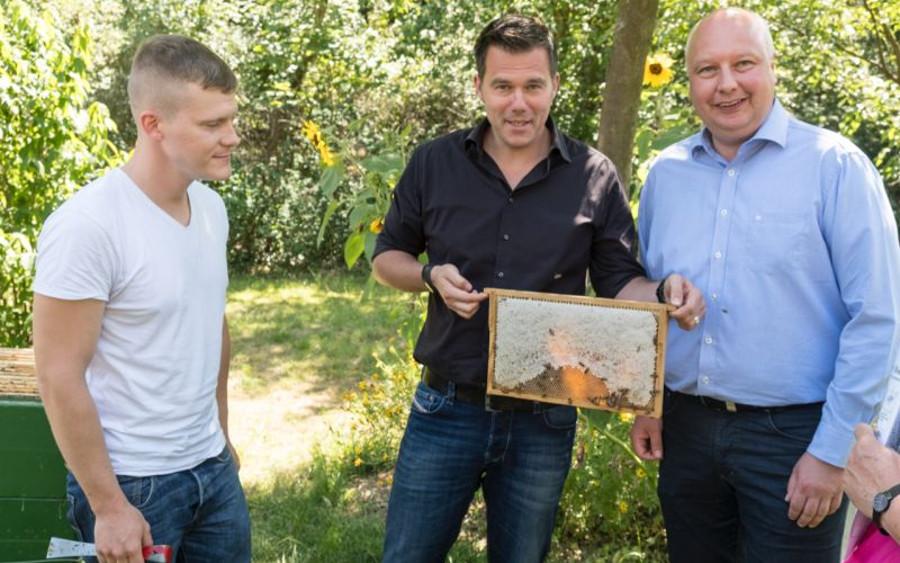 """MdB Dr. Gero Hocker (FDP) nach einem Besuch im Bieneninstitut Celle:  """"Bienensterben in Deutschland?"""""""