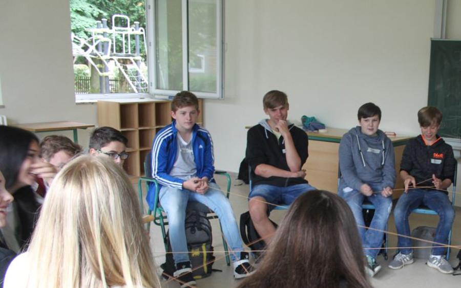 Projekttag an der Anne-Frank-Oberschule in Bergen