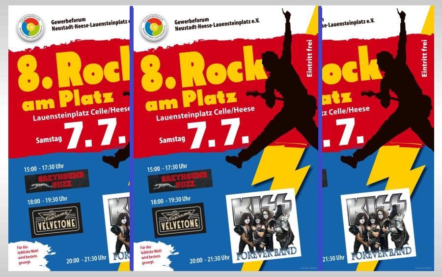 Rock am Platz am 7. Juli 2018