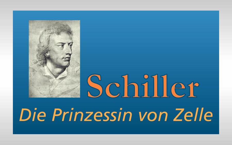 »Die Prinzessin von Zelle« – Schillers Plan für ein Drama wird vorgestellt