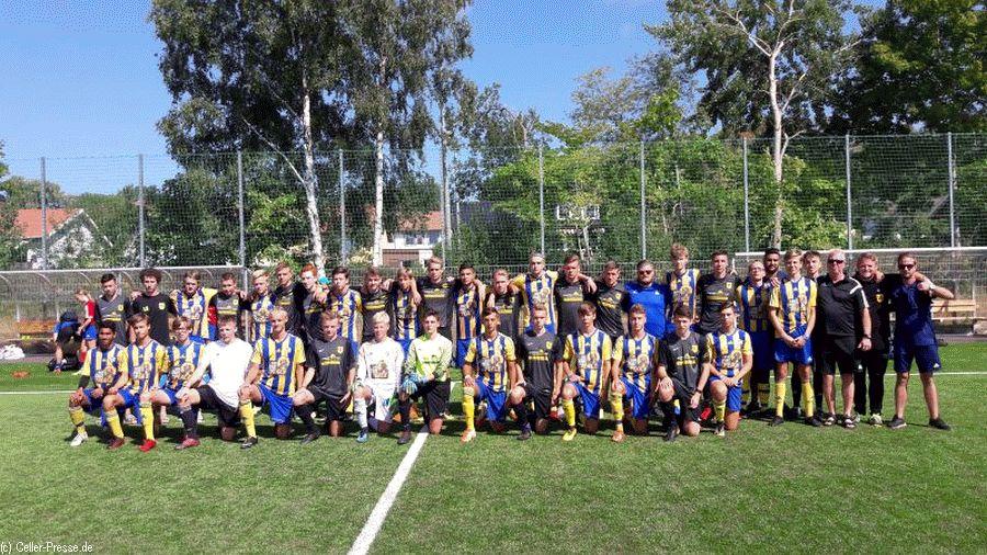 Schwedische Mannschaft revanchiert sich beim Gothia-Cup für WMNiederlage am VfL Westercelle