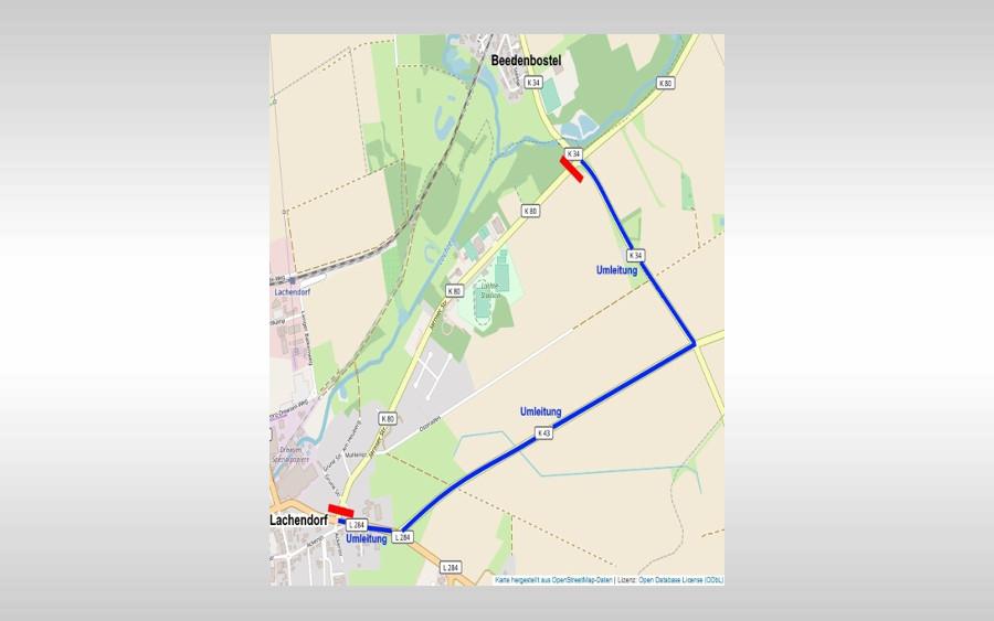 Sperrung der Jarnser Straße am Mittwoch: Baumfällung bei Lachendorf aus Verkehrssicherungsgründen
