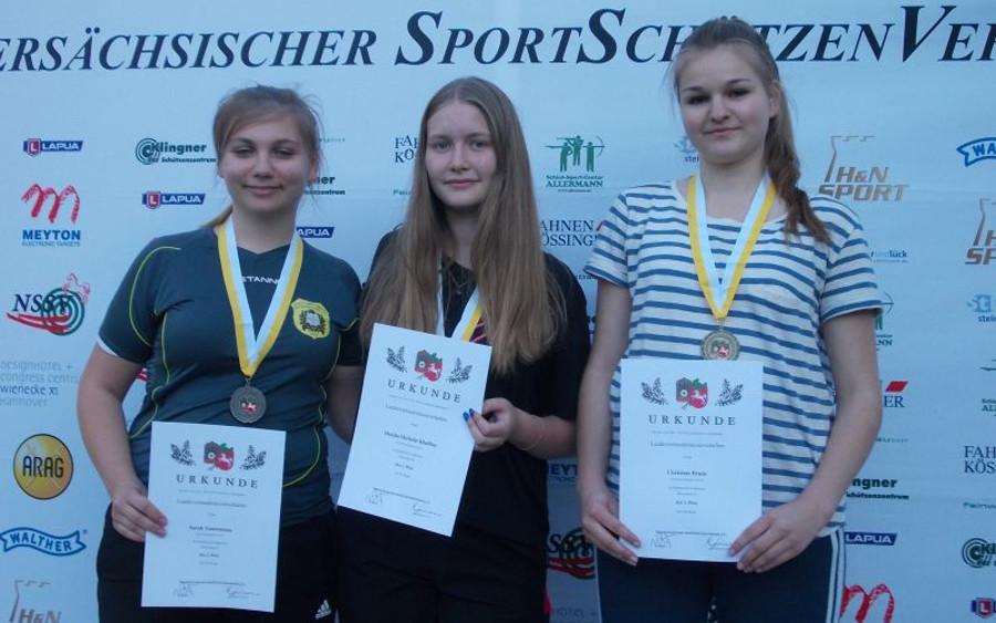 Titel für Juniorinnen des Schützencorps Neuenhäusen