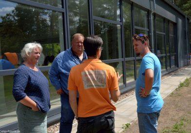 Dschungelcamp im Landkreiszeltlager und FDP dankt den Betreuern