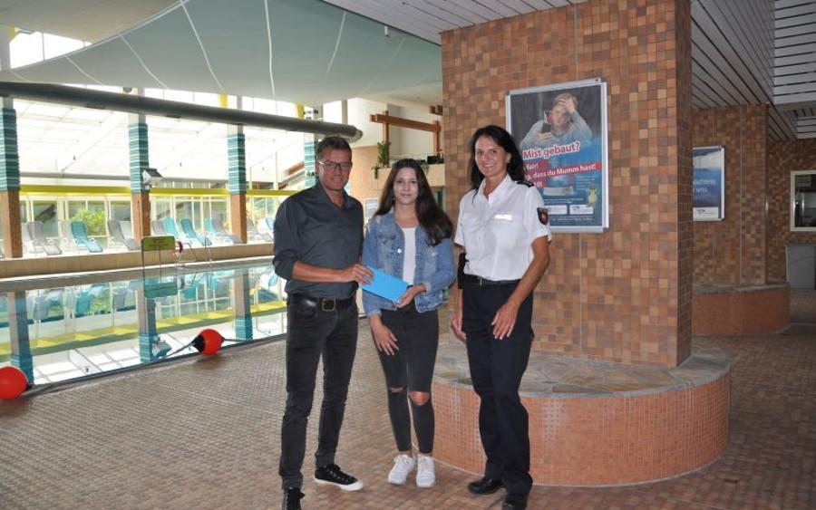 16-jährige Luka-Sophie Muth erhält Anerkennung für ehrliches und faires Verhalten