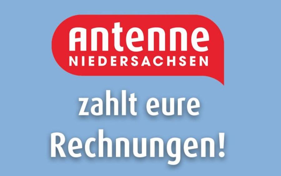 Antenne Niedersachsen zahlt Rechnungen: 300.000 Euro sind schon beglichen