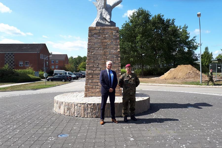 Ehrhorn besucht Bundeswehr und Bundespolizei