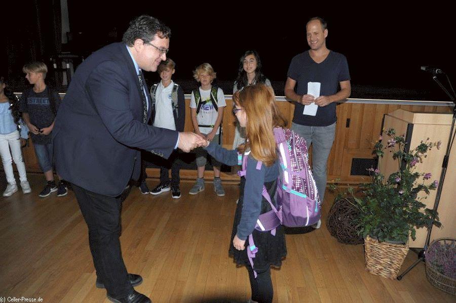 Erste Schritte in der großen Schule – Einschulungsfeier am Christian-Gymnasium