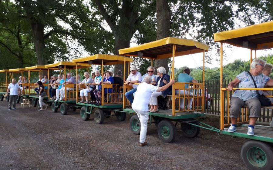 Fahrt ins Blaue zum Steinhuder Meer und Obsthof-Besuch mit dem SoVD Ortsverband Nienhagen