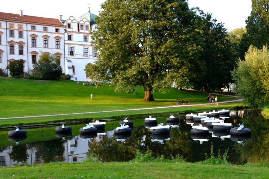 Museum am Mittag im Kunstmuseum:  Franz Betz spricht über seine Installation im Schlosspark