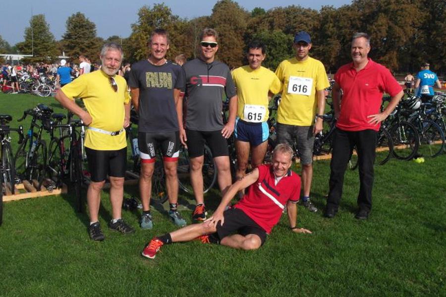 Hermannsburger Triathleten in Celle erfolgreich – TuS Staffel holt Platz 2