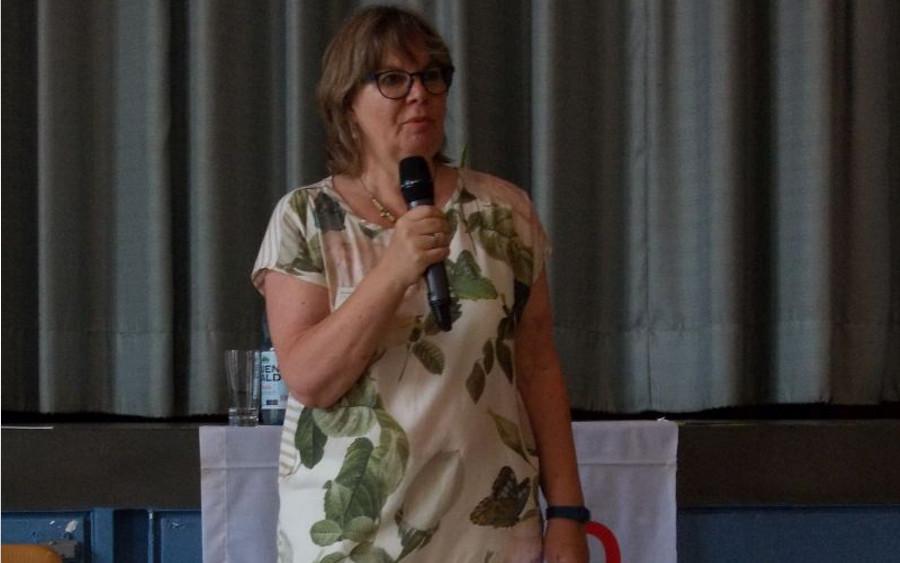 """""""Krebs kennt (k)ein Alter"""" – Kristine Michaelis vom Onkologischen Forum Celle stellte ihre Arbeit in der Krebs-Beratungsstelle vor"""