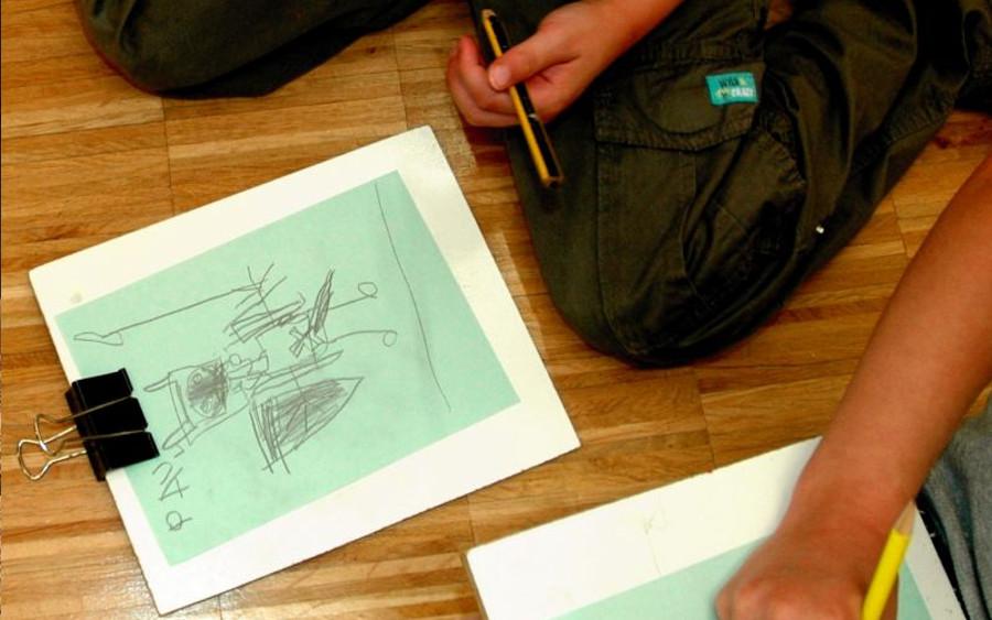 """Kritzeln mit Witz – Kunst-Workshop """"Junges Gemüse"""" für Kinder"""