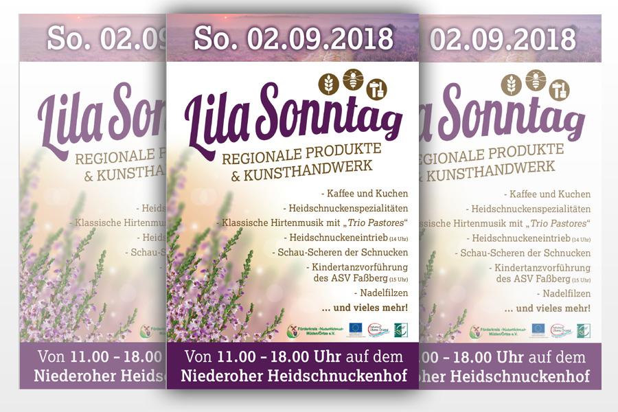 Lila Sonntag 2018 in der Gemeinde Faßberg