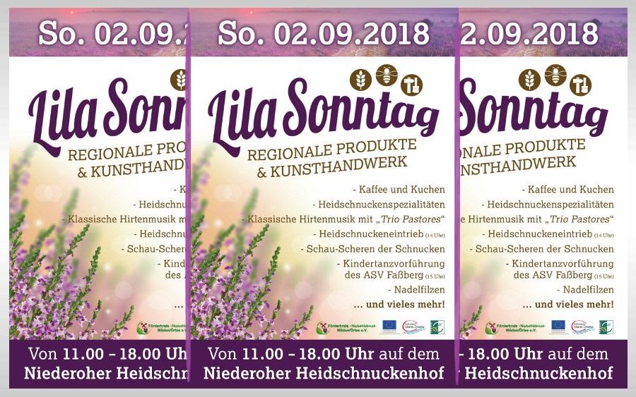 Sonntag 2018 in der Gemeinde Faßberg