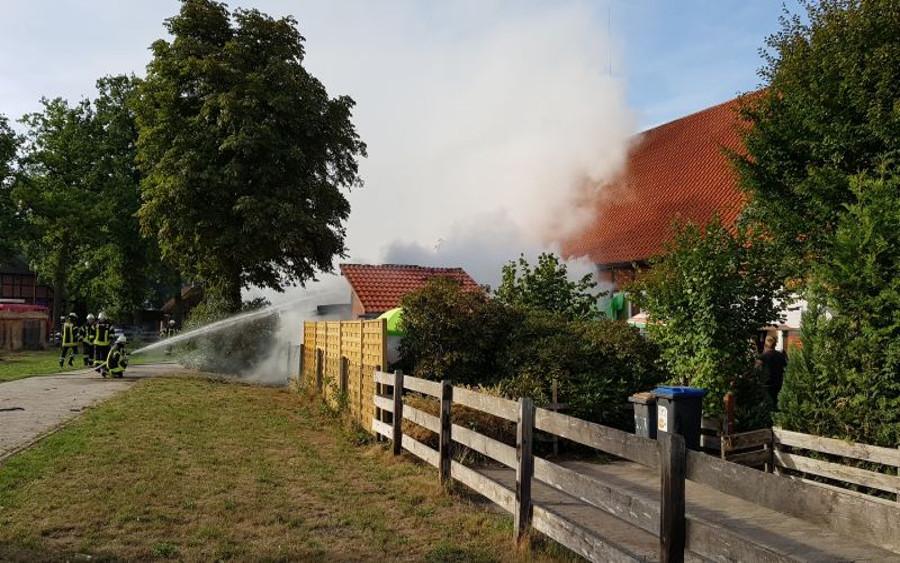 Mülltonnenbrand in Lachendorf