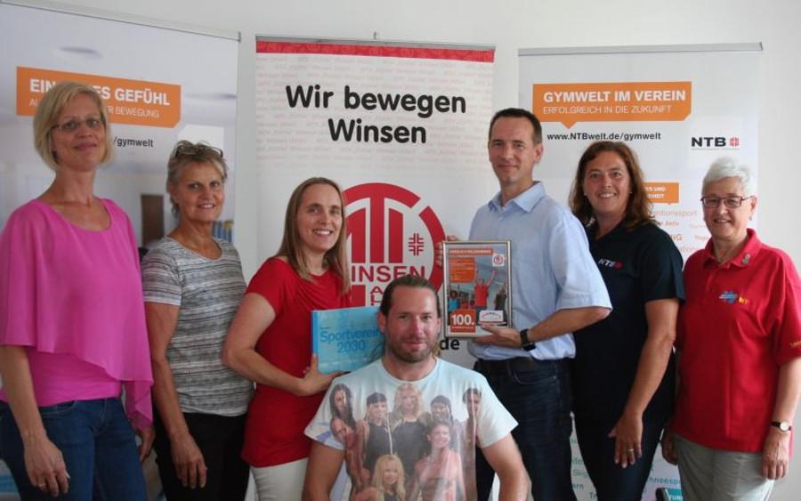 """MTV """"Fichte"""" Winsen ist 100. GYMWELT-Verein in Niedersachsen"""