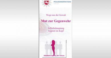 Polizeiinspektion Celle bietet neue Selbstbehauptungskurse für Frauen an