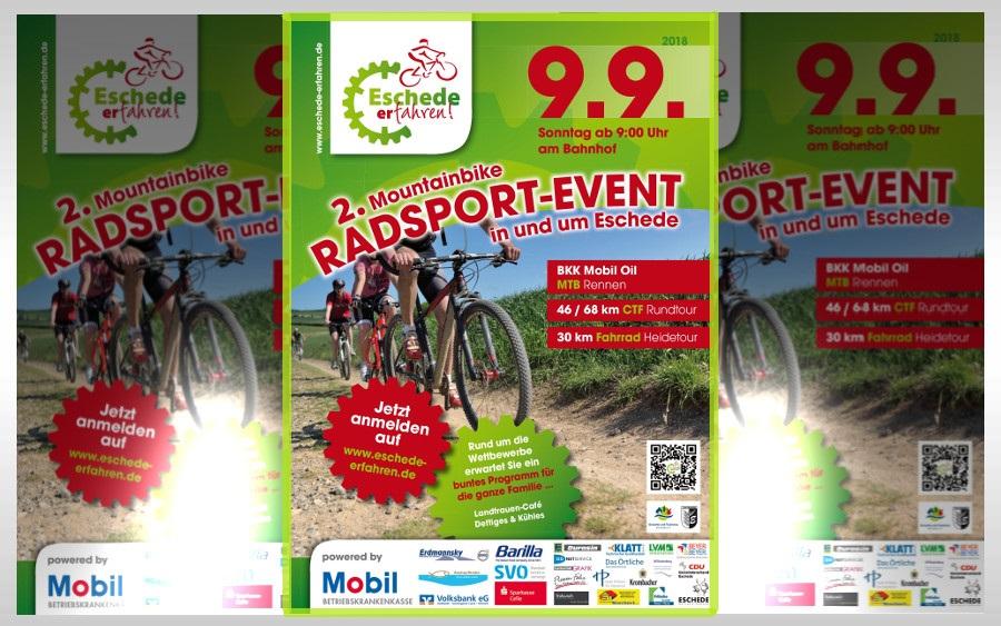 """Radsport-Event """"Eschede erfahren!"""" am 09. September 2018"""