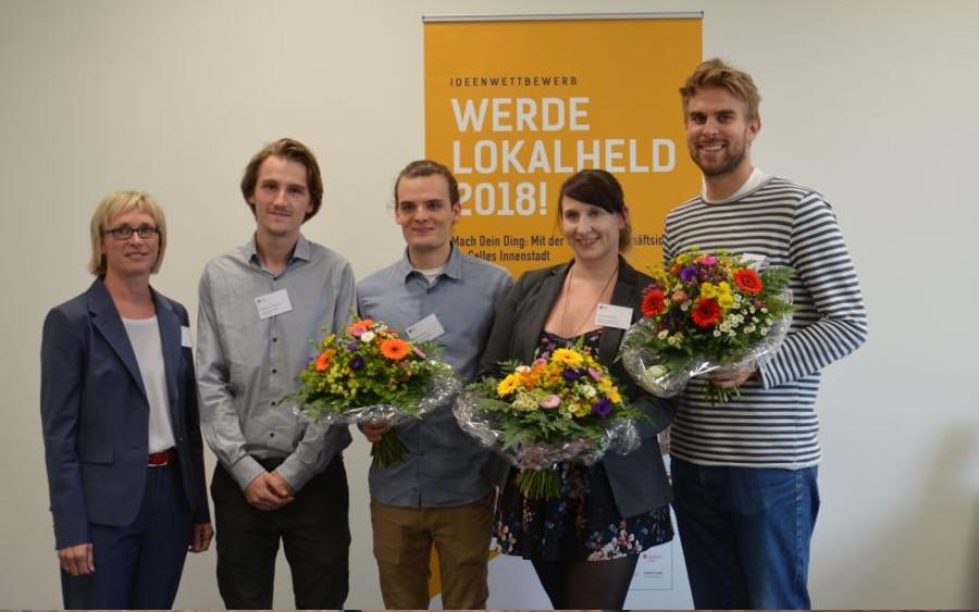 Stephanie Genthe gewinnt Celler Lokalhelden-Wettbewerb – Zukünftige Gastronomin überzeugt mit Geschäftsidee