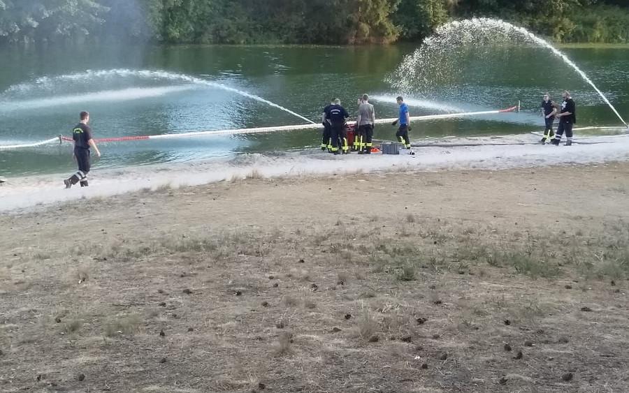 Technische Hilfeleistung für den Badespass am Ovelgönner Strandbad