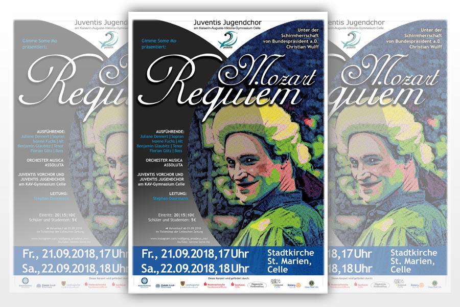 """""""Mo & Mozart in Town"""": W. A. Mozart: Requiem & Jupiter-Sinfonie"""