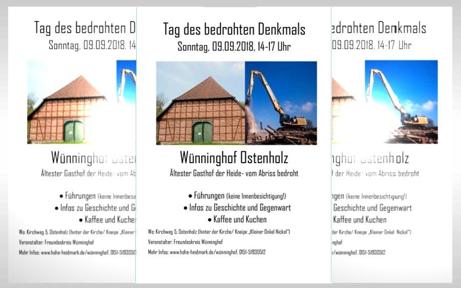 """""""Tag des bedrohten Denkmals"""" auf den Wünninghof"""