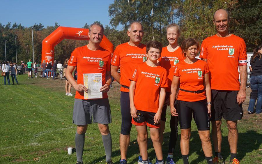 Adelheidsdorfer Läuferteam zeigt sich begeistert vom Internationalen Steinhuder-Meer-Lauf