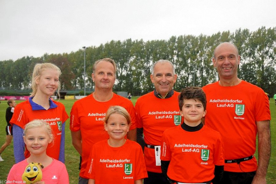 Adelheidsdorfer Lauf-AG ist erfolgreich beim 21. Hiddestorfer Rübenlauf