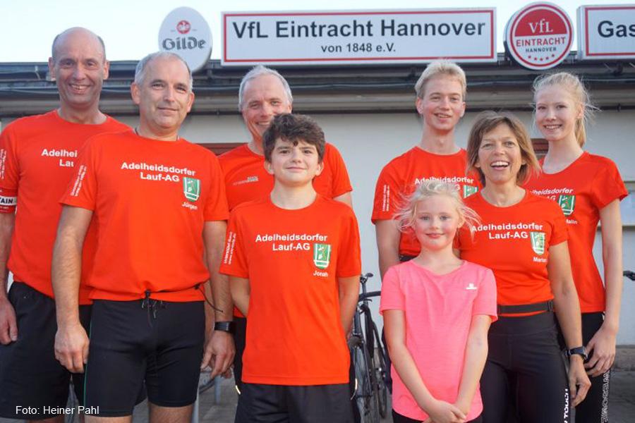 "Adelheidsdorfer Lauf-AG präsentiert sich laufstark beim 14. ""Eilenriede-Fünfer"""