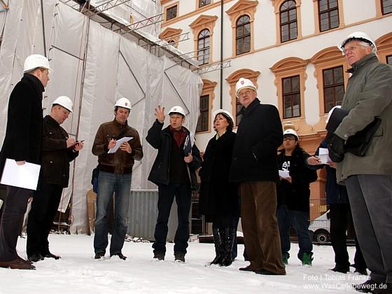 Celler Schloss: Zwischenbilanz der Sanierung