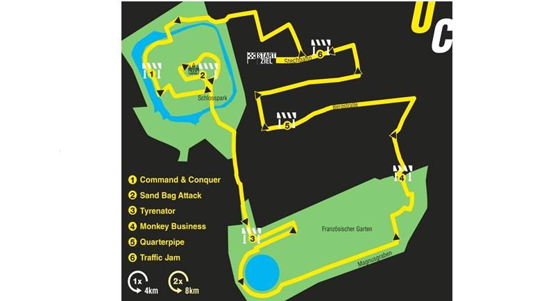 Countdown zur Premiere des Hindernislaufs in der Residenzstadt