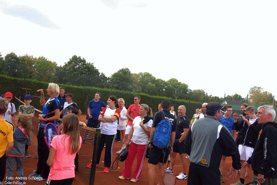 Die Tennissparte des VfL Westercelle feiert 50-jähriges Jubiläum