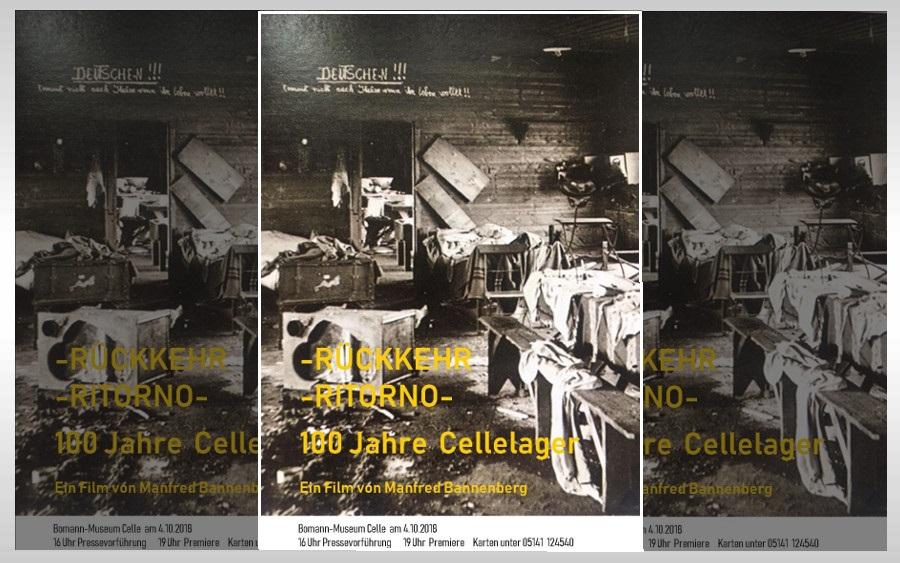 """""""Rückkehr – Ritorno"""" Dokumentarfilm zeigt die Wiederentdeckung eines vergessenen Kriegsgefangenenlagers aus dem Ersten Weltkrieg in Celle"""